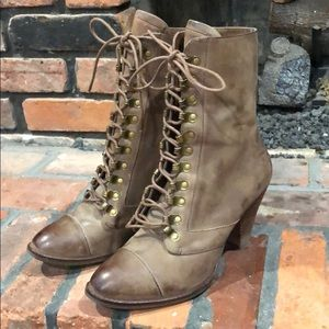 Jeffrey Campbell laced boots size 7 1/2